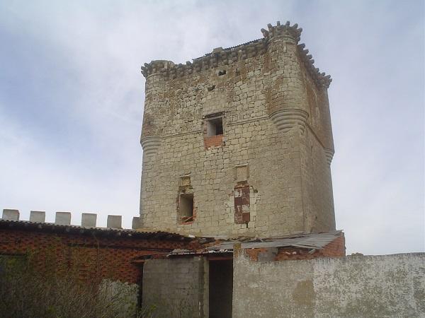 Torre del Homenaje del castillo de Galve. // Foto: Asoc. Castillo de Galve de Sorbe.