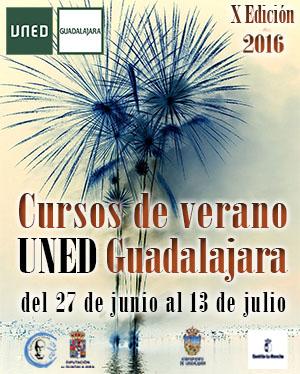 Cartel de los cursos de verano de la UNED celebrado en 2016