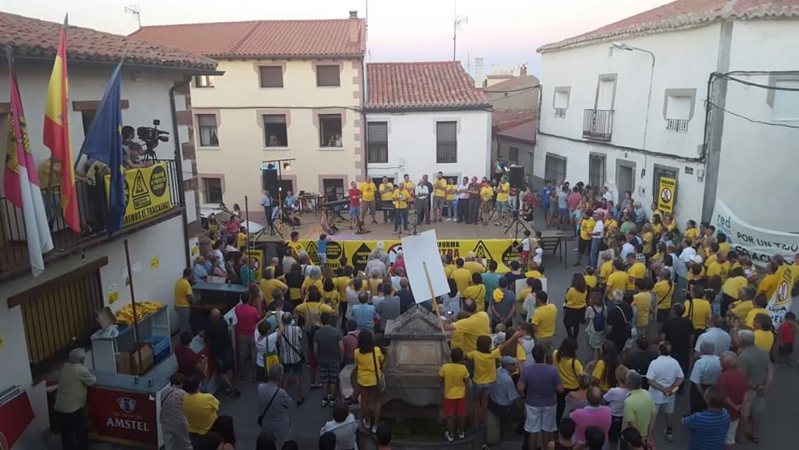 Una manifestación contra el fracking (foto: Archivo)
