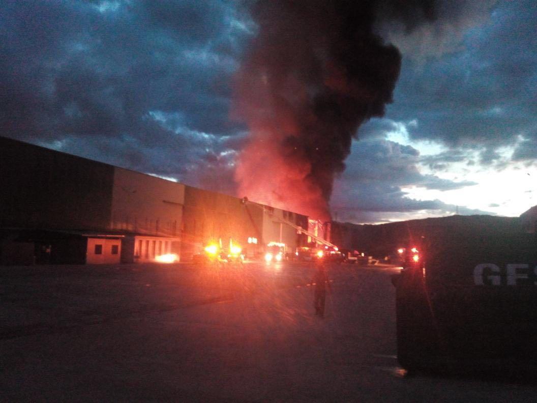 Imagen de archivo del incendio de Chiloeches