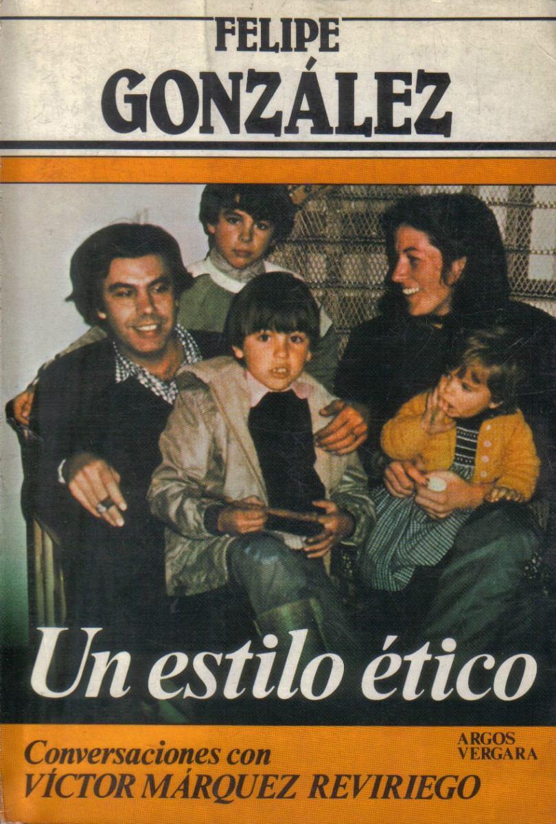 Portada del libro de Víctor Márquez Reviriego sobre FG (1982).