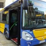 El PSOE denuncia la pérdida de un tercio de los viajeros en el bus de la capital