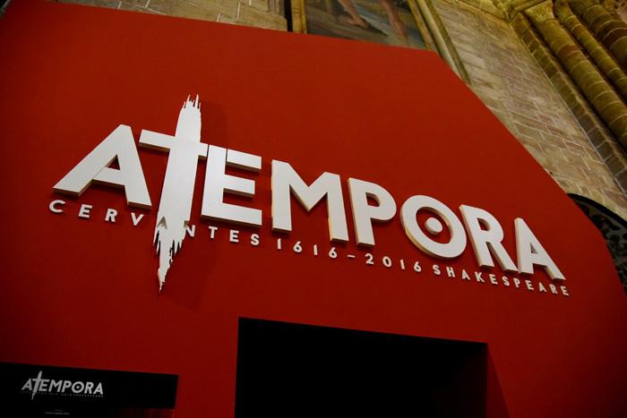 Atempora en Sigüenza ha sido uno de los éxitos del IV Centenario de Cervantes