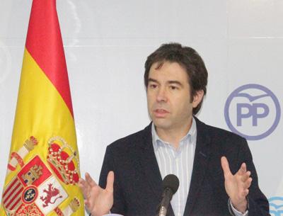 El diputado regional Lorenzo Robisco