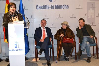 La Viceconsejera de Educación inaugura la nueva sala de arte dedicada a Buero Vallejo