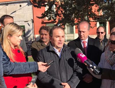 Carnicero ha solicitado a la Consejera de Fomento mas inversiones para Guadalajara