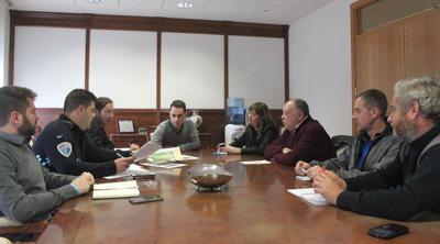 Reunión en el ayuntamiento de Cabanillas para preparar el Plan de Viabilidad Invernal
