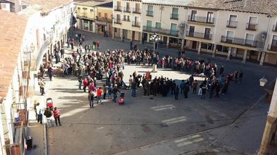 Concentración de rondas en Cifuentes el pasado domingo