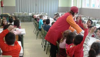 369 alumnos tendrán comedor escolar estas navidades
