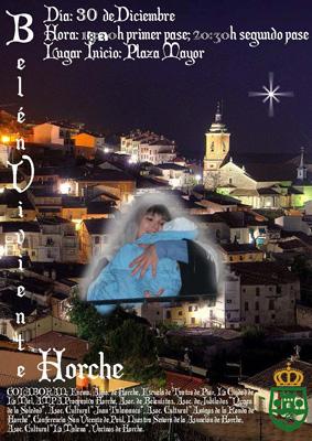 Cartel del Belen Viviente de Horche