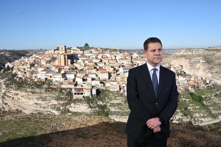 Mensaje institucional del presidente de Castilla La Mancha Emiliano García Page