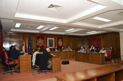 Pleno del Ayuntamiento de Azuqueca
