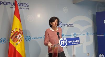 """Ana González reprocha a Page que """"se vaya de fiesta a Madrid sin hacer los deberes con Guadalajara"""""""