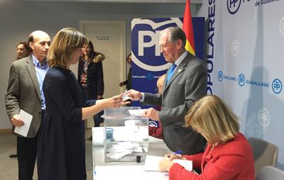 El PP provincial elige la lista de compromisarios para el congreso de febrero