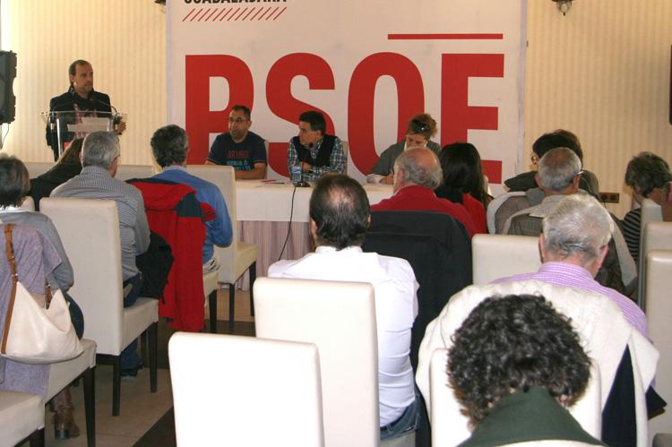 Intervención de Bellido en el Comité Provincial del PSOE