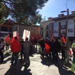 Protestas por los despidos en la recogida de basuras