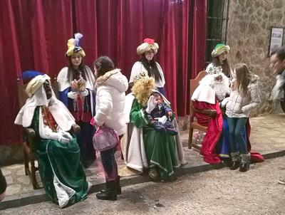 Los Reyes Magos pasaron por Pastrana