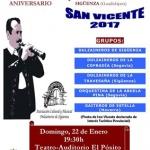 Música tradicional en Sigüenza para celebrar San Vicente