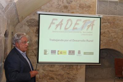 Jesús Ortega Molina, presidente de FADETA, que ahora abre oficina en Brihuega
