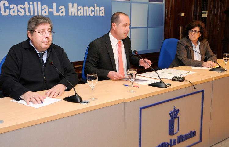 Rojo presenta el concurso de adjudicación del parking subterraneo del hospital