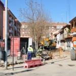 Blanco pide disculpas a comerciantes y vecinos por las obras en la avenida de Guadalajara
