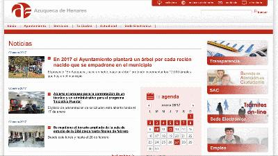 La web municipal de Azuqueca va a ser rediseñada con nuevos contenidos