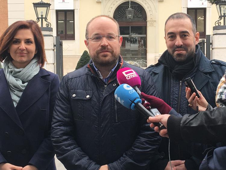 Alejandro Ruiz, responsable de Ciudadanos en la región ha sido muy crítico con el último comunicado del PP referido a la situación de Yolanda Ramírez