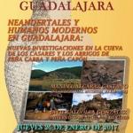 La vida neardental objeto de una conferencia en el Museo de Guadalajara