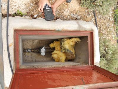 Guadalagua aconseja proteger el contador de agua