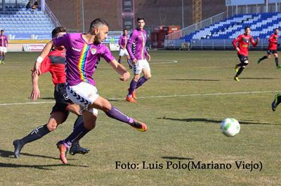 El Depor le encajó dos goles al equipo visitante, el Quintanar