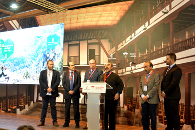 Manuel Monasterio explica las nuevas lineas de actuación en el Geoparque de Molina