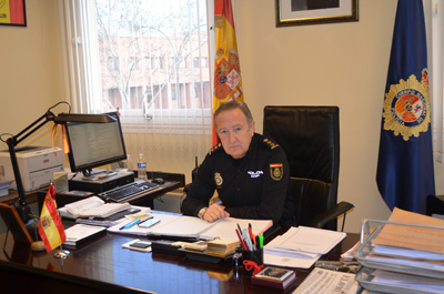 El Comisario jefe Francisco Trallero deja la jefatura de Guadalajara