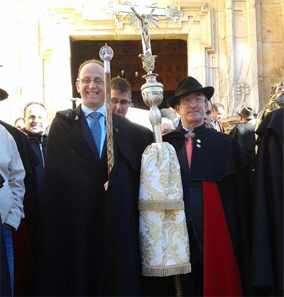 Mayordomo de San Antón, antigua cofradía de Jadraque