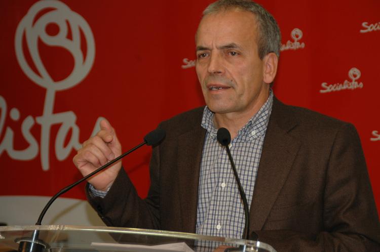 Julio Garcia, portavoz del PSOE en la Diputación