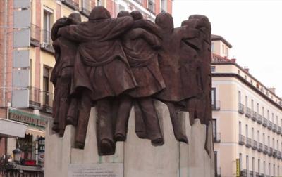 Monumento recordatorio de la matanza de Atocha de 1977