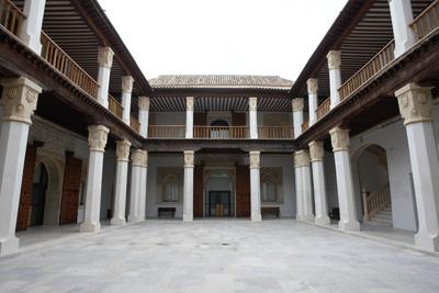 Patio principal del toledano Palacio de Fuensalida