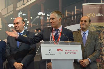 Ignacio Ranera, alcalde de Pastrana presenta las propuestas de su pueblo en FITUR