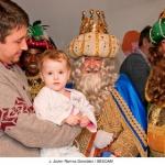 Los Reyes Magos visitan el Hospital de Guadalajara