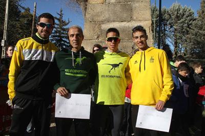 Ganadores de la carrera celebrada en Sigüenza