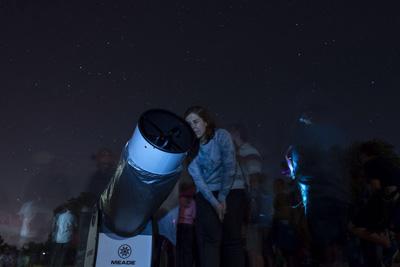 Este sábado se puede observar el cielo y las estrellas desde Valdeluz en el mirador de Valdenazar