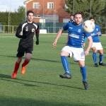 Javi Robledo da la victoria al Yunquera frente al Dinamo (1-0)
