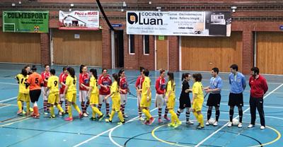 Una brillante primera mitad no fue suficiente para las chicas del Alovera (4-1)