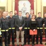 Toman posesión los siete nuevos bomberos de Guadalajara