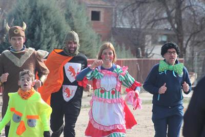 Entre las actividades del Carnaval de Cabanillas, se puede correr disfrazado