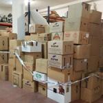 Cabanillas se volcó en la campaña de ayuda a los refugiados sirios