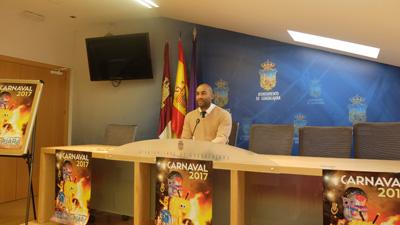 """Armengol Engonga presenta el programa de Carnaval con la novedad del mercado """"Viaje al Medievo"""""""