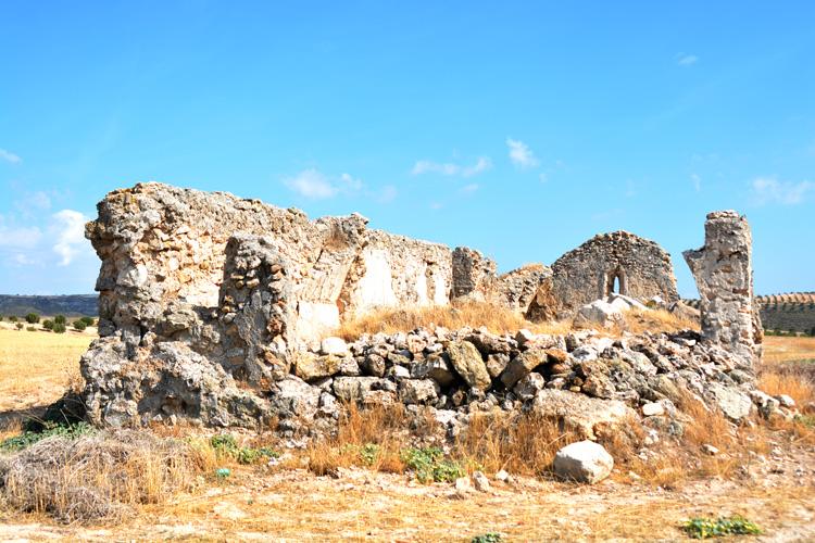 Bajo la ermita de la Virgen de la Muela de Drieves puede estar la vieja ciudad romana de Caraca