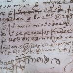En el Archivo Provincial preparan un Curso de Diplomática y Paleografía