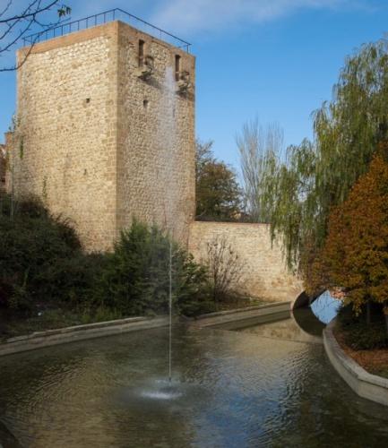 El torreón del Alamín en Guadalajara