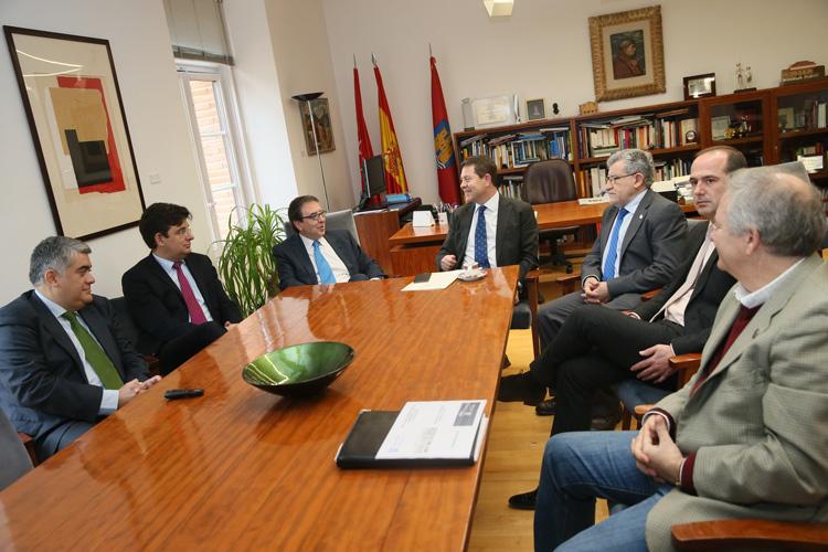 Page y Galván se han reunido para hablar del futuro campus de Las Cristinas